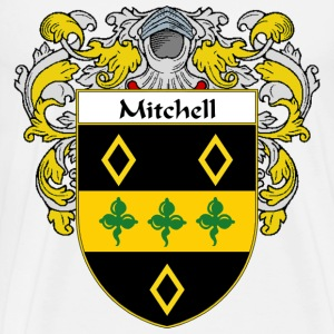 Mitchell Coat of Arms/Family Crest - Men's Premium T-Shirt