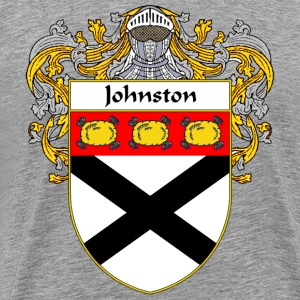 Johnston Coat of Arms/Family Crest - Men's Premium T-Shirt