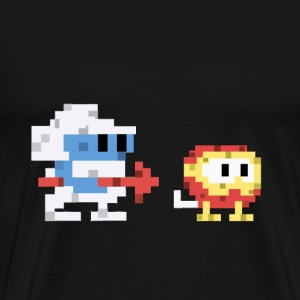 Dig Dug - Men's Premium T-Shirt