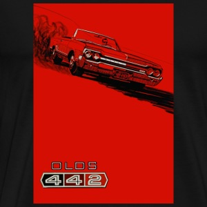 1964 Oldsmobile 442 vintage ad reproduction - Men's Premium T-Shirt