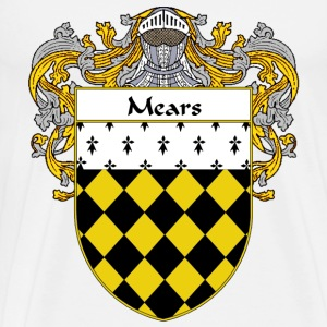 Mears Coat of Arms/Family Crest - Men's Premium T-Shirt