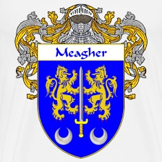 Meagher Coat of Arms/Family Crest