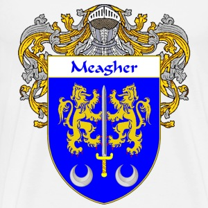 Meagher Coat of Arms/Family Crest - Men's Premium T-Shirt