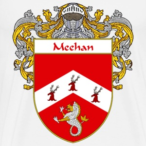 Meehan Coat of Arms/Family Crest - Men's Premium T-Shirt