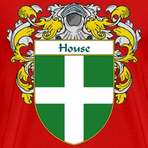 House Coat of Arms/Family Crest - Men's Premium T-Shirt