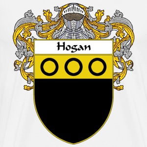 Hogan Coat of Arms/Family Crest - Men's Premium T-Shirt