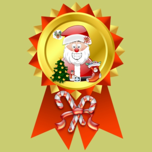 Father Christmas  Rosette