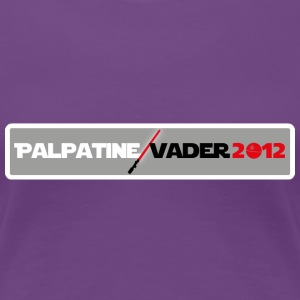 Palpatine/Vader 2012 v1 Ladies - Women's Premium T-Shirt