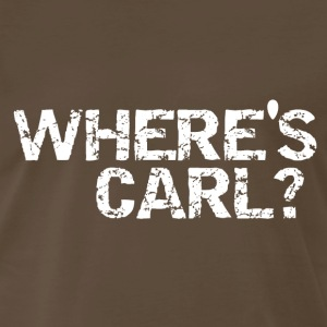 Where's Carl? - Men's Premium T-Shirt