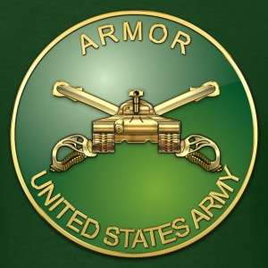 Armor Branch Plaque - Men's T-Shirt