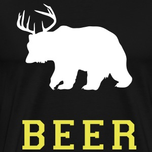 KCCO - Bear Beer Deer T-Shirts - Men's Premium T-Shirt