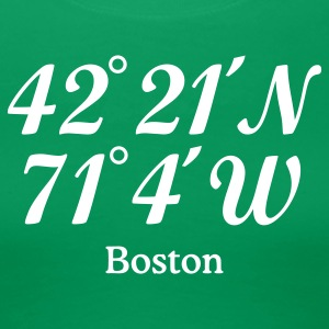 Boston T-Shirt Coordinates - Women's Premium T-Shirt