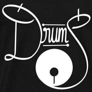 White Drums - Men's Premium T-Shirt