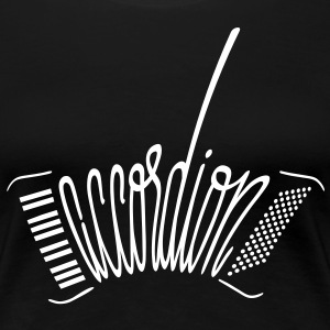 Accordion Women's T-Shirts - Women's Premium T-Shirt