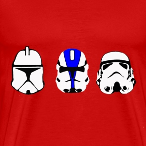 Progression of Troopers - Men's Premium T-Shirt