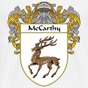 McCarthy Coat of Arms/Family Crest - Men's Premium T-Shirt