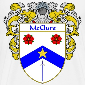 McClure Coat of Arms/Family Crest - Men's Premium T-Shirt