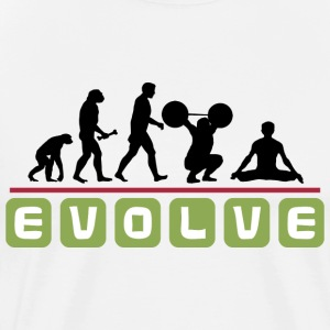 Evolve Yoga T-Shirt - Men's Premium T-Shirt