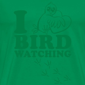 I Love Bird Watching T-Shirts - Men's Premium T-Shirt