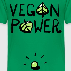 Vegan Power Kids' Shirts - Kids' Premium T-Shirt