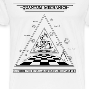 Quantum Mechanics - Surreal - Men's Premium T-Shirt