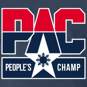 PAC People's Champ Mens Tee Shirt by AiReal  - Men's Premium T-Shirt