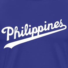 Philippines Script Mens Tee Shirt by AiReal