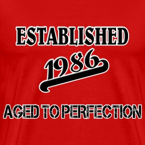 Established 1986 T-Shirts - Men's Premium T-Shirt