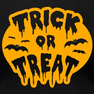 Trick or Treat Halloween Women's T-Shirts - Women's Premium T-Shirt