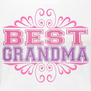 Best Grandma - Women's Premium T-Shirt