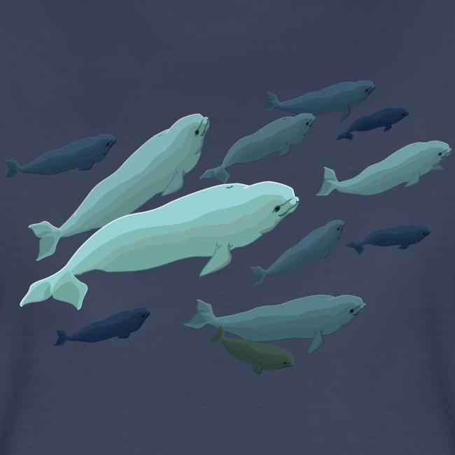 Beluga Whale Shirts Ladies Beluga Shirts & Gifts