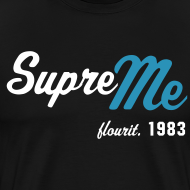 Design ~ SupreMe83 Flourish Azul - Mens