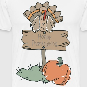 Happy Thanksgiving T-Shirt - Men's Premium T-Shirt