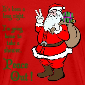 Peace Out Santa - Men's Premium T-Shirt