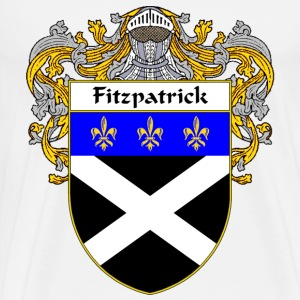Fitzpatrick Coat of Arms/Family Crest - Men's Premium T-Shirt