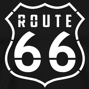 Road 66 T-Shirts - Men's Premium T-Shirt