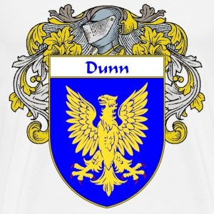 Dunn Coat of Arms/Family Crest - Men's Premium T-Shirt