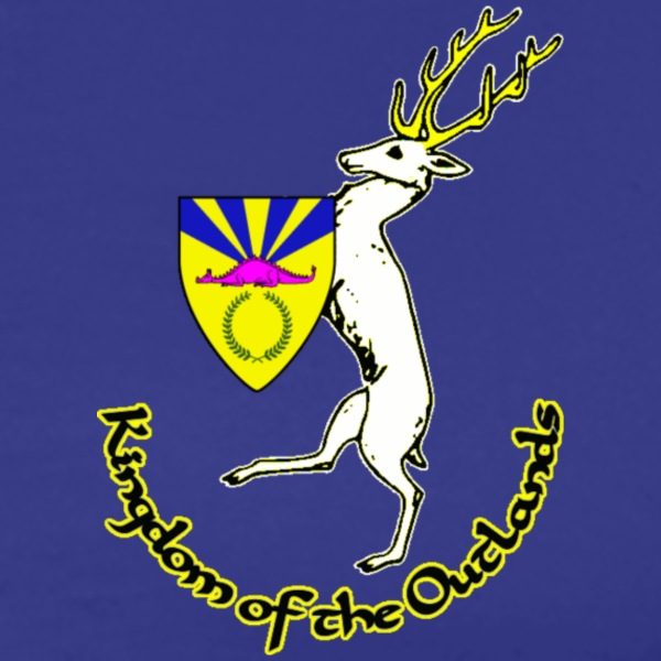 outlands_dragonspine_stag_2 T-Shirts - Men's Premium T-Shirt