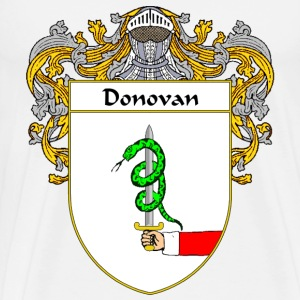 Donovan Coat of Arms/Family Crest - Men's Premium T-Shirt