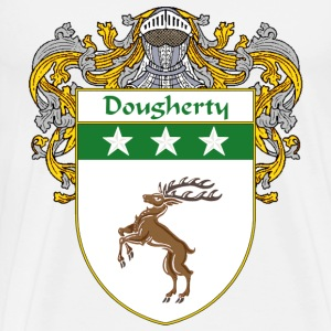 Dougherty Coat of Arms/Family Crest - Men's Premium T-Shirt
