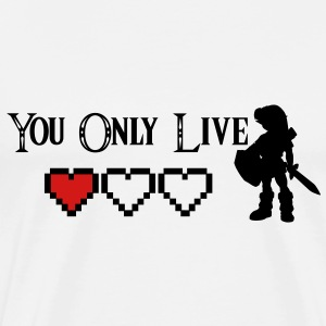 You Only Live Once - Young Link Zelda - KCCO T-Shirts - Men's Premium T-Shirt