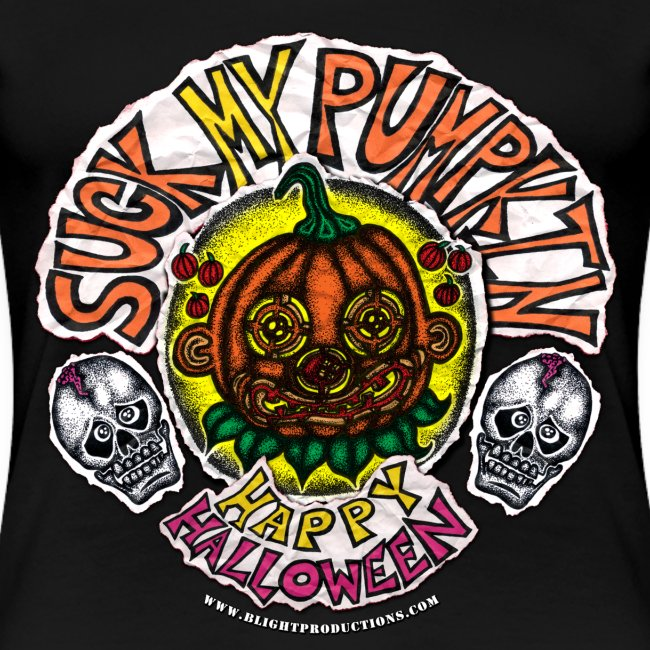 SUCK MY PUMPKIN (LADIES 3X)