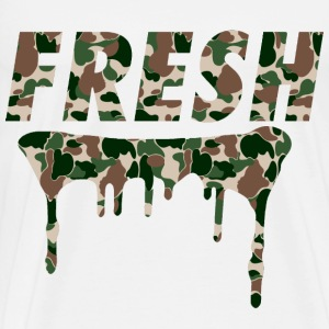 Fresh Woodlands Camo - Men's Premium T-Shirt