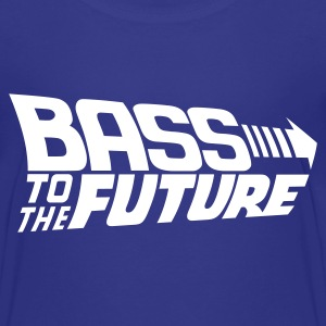 Bass to the Future Kids' Shirts - Kids' Premium T-Shirt