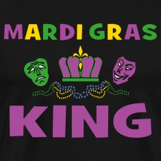 Mardi Gras King T-Shirt