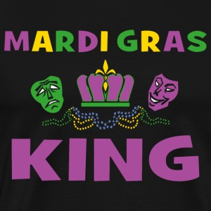 Mardi Gras King T-Shirt - Men's Premium T-Shirt