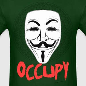 Occupy - Guy Fawkes Mask T-Shirts - Men's T-Shirt