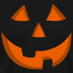 Halloween Jack o Lantern T-shirt Orange