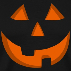 Halloween Jack o Lantern T-shirt Orange - Men's Premium T-Shirt