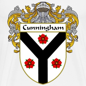 Cunningham Coat of Arms/Family Crest - Men's Premium T-Shirt